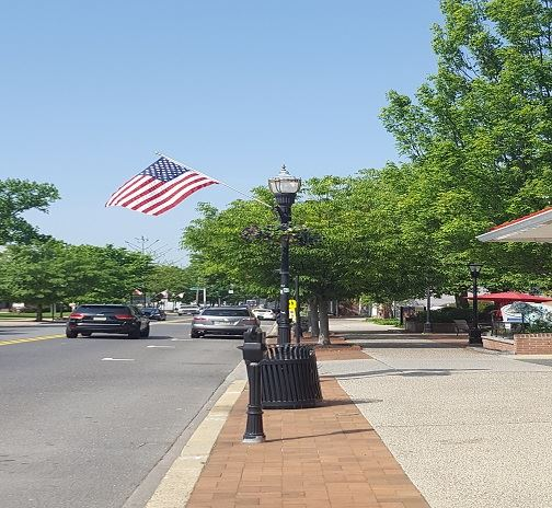 Main Street Flags small